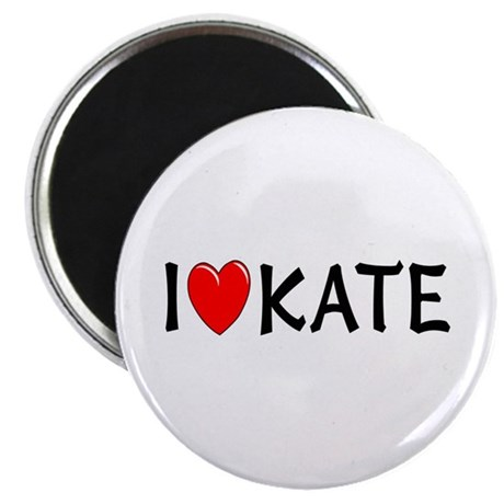 I Love Kate Magnet