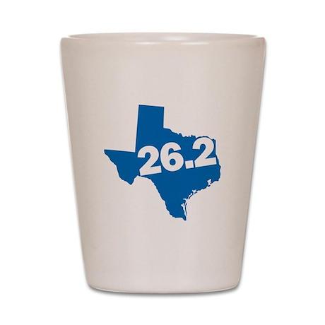 Texas Marathoner Shot Glass