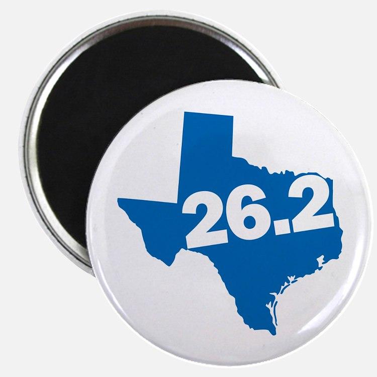 Texas Marathoner Magnet
