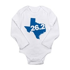 Texas Marathoner Long Sleeve Infant Bodysuit