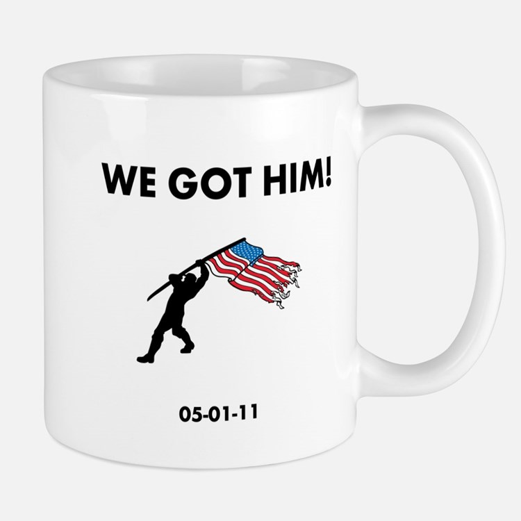 We Got Him Mug