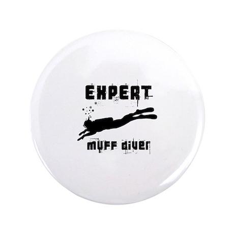 """Expert Muff Diver 3.5"""" Button (100 pack)"""