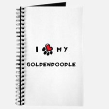 I *heart* My Goldendoodle Journal