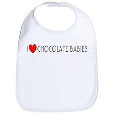 I Love Chocolate Babies Bib