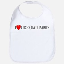 I Love Chocolate Babies Bib