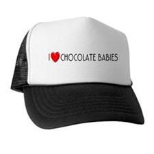 I Love Chocolate Babies Trucker Hat
