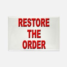 Nebraska Restore the Order Rectangle Magnet