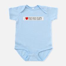 I Love Poo Poo Dusty Infant Creeper