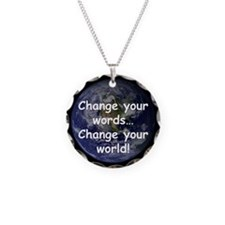 Change Your Words Necklace