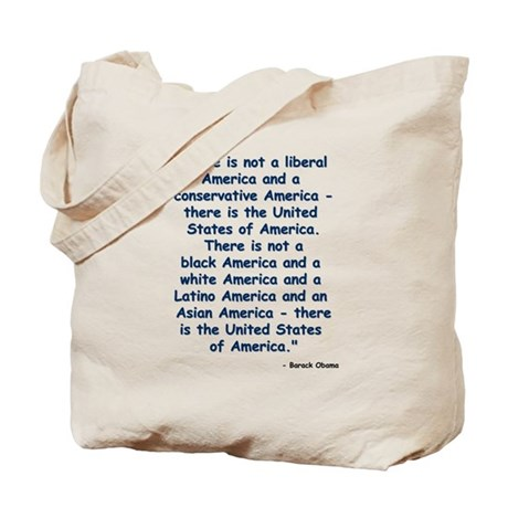 Obama America Tote Bag