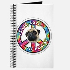 Peace, Love and Pugs Journal