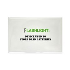 Flashlight Rectangle Magnet