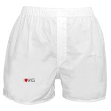 I Love Wigs Boxer Shorts