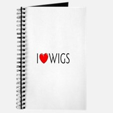 I Love Wigs Journal