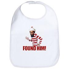 Osama Bin Laden - Found Him! Bib