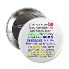 """Perfect Baby 2.25"""" Button (10 pack)"""