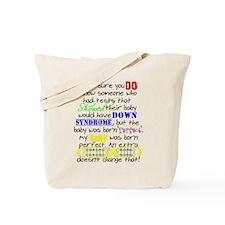 Perfect Baby Tote Bag