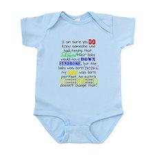 Perfect Baby Infant Bodysuit