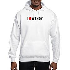 I Love Wendy Hoodie