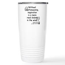 Brahms Craftsmanship Travel Coffee Mug