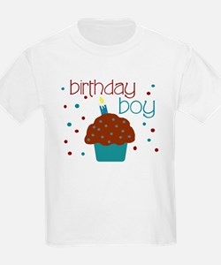Birthday boy cupcake T-Shirt