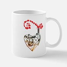 Industrial heart (bronze) Mug