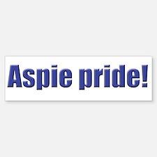 Aspie Pride! Bumper Stickers