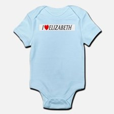 I Love Elizabeth Infant Creeper