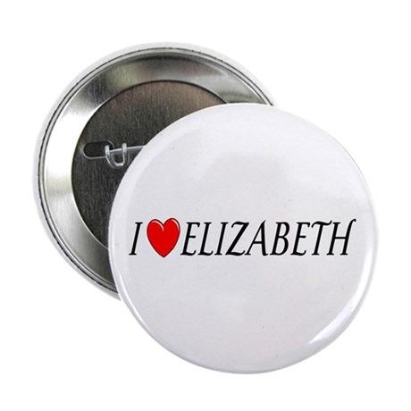 I Love Elizabeth Button
