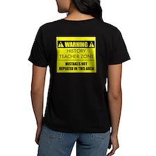WARNING: History Teacher Tee