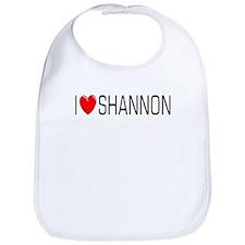 I Love Shannon Bib