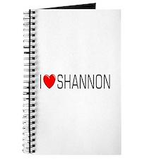 I Love Shannon Journal