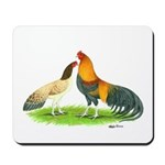 Blue Red Cubalayas Mousepad