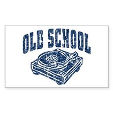Old School Decal