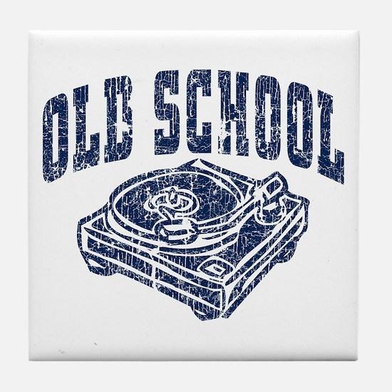 Old School Tile Coaster