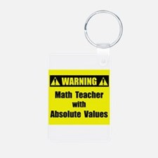 WARNING: Math Teacher 2 Keychains