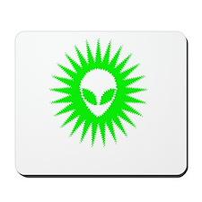 Sun Schwa Green Mousepad