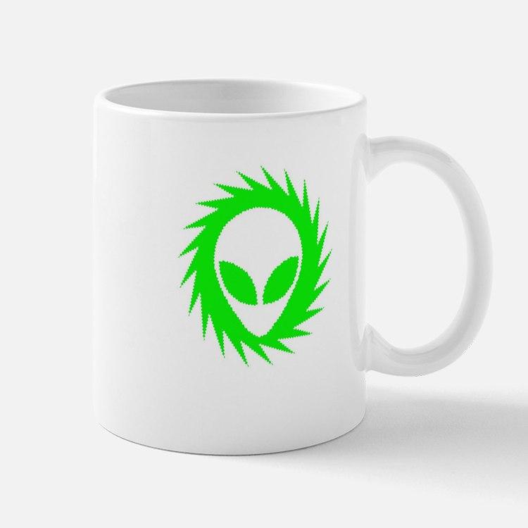 Spinning Schwa Green Mug