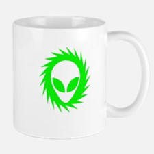 Spinning Schwa Green Small Mugs