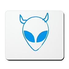 Devil Schwa Blue Mousepad