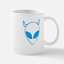 Devil Schwa Blue Mug