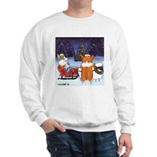 Christmas PEMBROKE WELSH CORGI Jumper