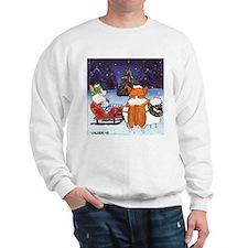 Christmas PEMBROKE WELSH CORGI Sweatshirt