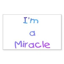 Miracle Blue/Indigo Rectangle Decal