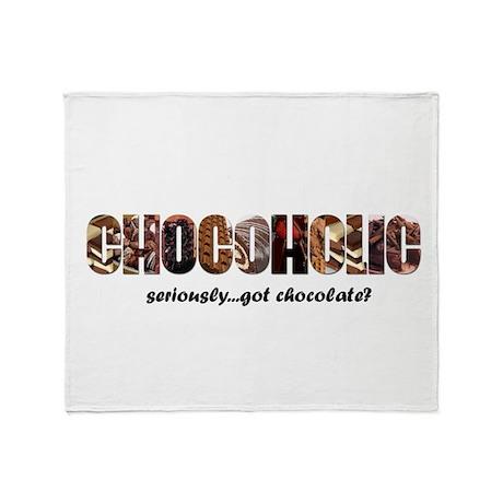 Chocoholic Throw Blanket