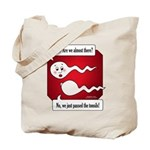 Lost Sperm Tote Bag