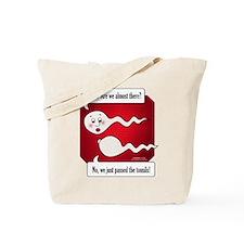 Lost Sperm Tote Bag