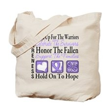 General Cancer Honor Tote Bag