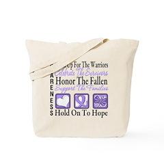 General Cancer Honor Tote Bag