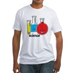 Test Tubes Fitted T-Shirt